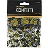 Amscan Rocking New Year Party Value Mix Confetti Tableware, 1.2 oz, Multicolor