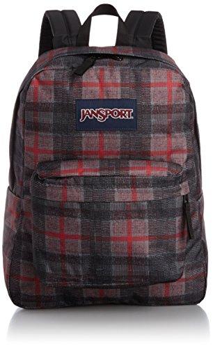 JanSport SuperBreak Backpack (Red Tape Knit (Jansport Plaid Backpack)