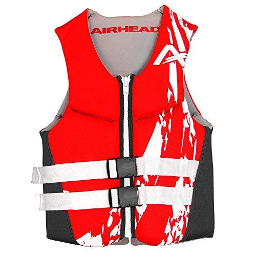 Airhead SWOOSH Kwik-Dry Neolite Flex Life Vest, Child, Red
