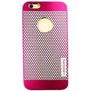 SHOUJIKE Fashion Dot Motomo Metal Hard Shell Cases for iPhone 6(Assorted Color) , Light Blue