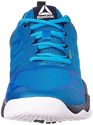 Reebok Zprint Train, Zapatillas de Gimnasia para Hombre, Azul (Instinct Blue/Collgt Navy/Wild Blue/Whit), 45 1/2 EU