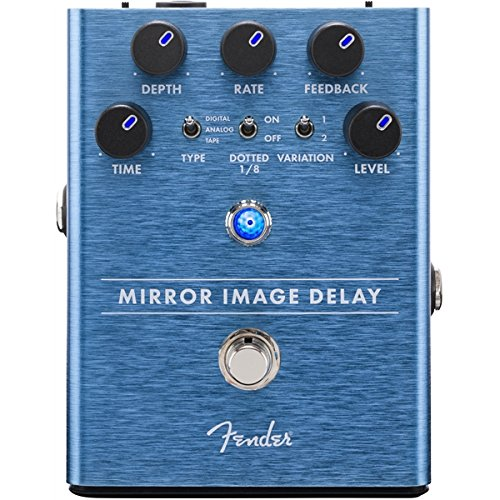 Fender Mirror Image Delay Electric Guitar Effects Pedal by Fender