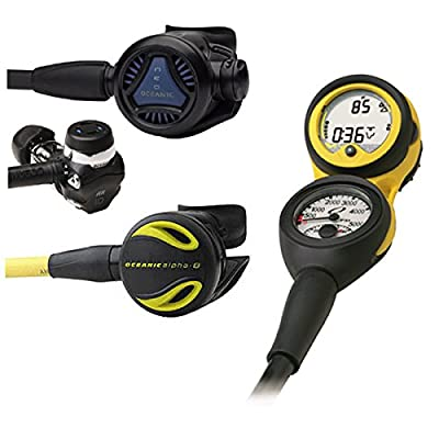 Oceanic Neo Scuba Diving Regulator Veo Computer Console and Octo Package