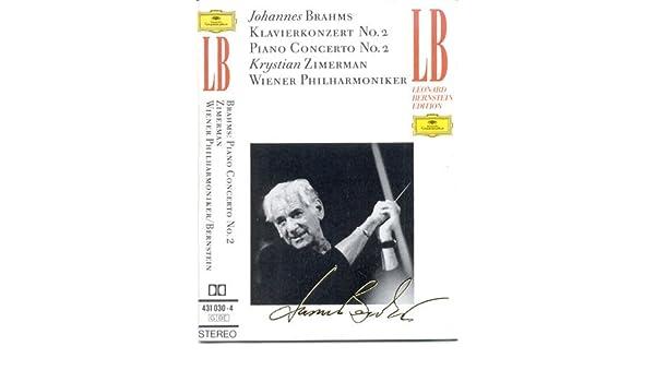 Brahms-Concerto pour Piano & Orch N 2 en Si B Ma-Ozimerman-O Rch.Phil.Vienne-Bernstein- : Krystian Zimerman, Léonard Bernstein: Amazon.es: Música