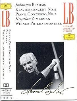 Brahms-Concerto pour Piano & Orch N 2 en Si B Ma-Ozimerman-