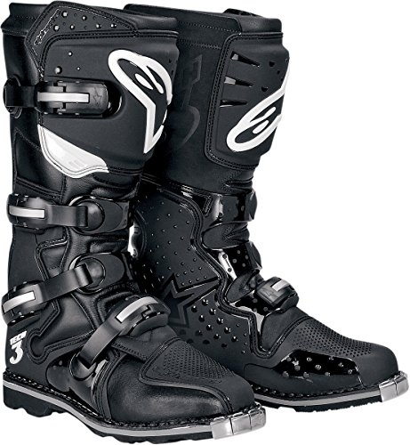 Alpinestars Tech 3 All Terrain Men's MX Motorcycle Boots - Black / Size 14