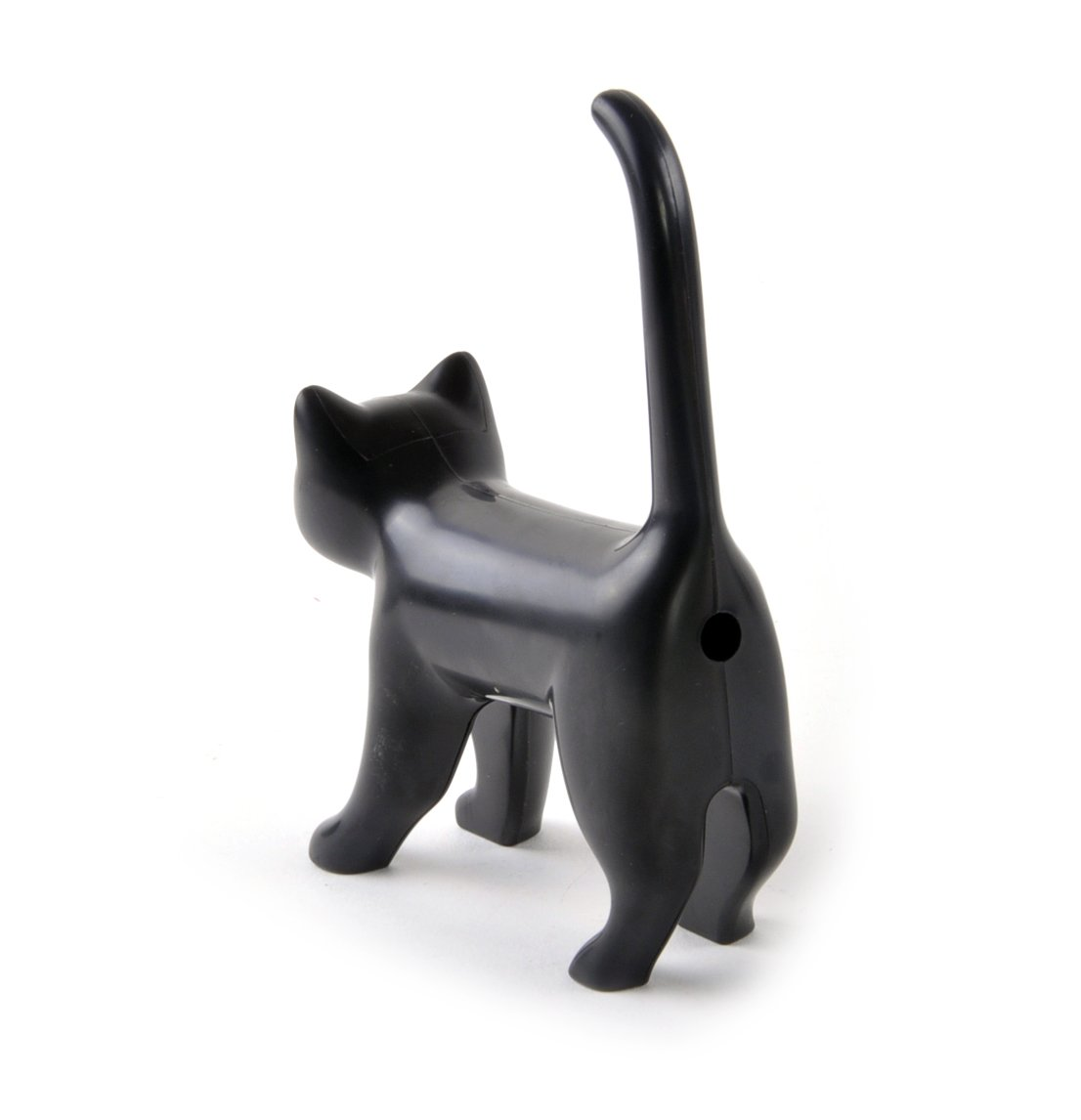 Sharp end cats bum pencil Sharpener - Black Luckies of London Ltd 14413white