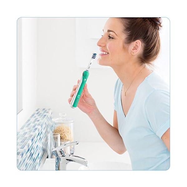 Oral-B TriZone 2000 - Cepillo de Dientes Eléctrico Recargable 3