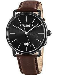 Mens 768.03 Ascot Swiss Quartz Date Brown Leather Strap Watch