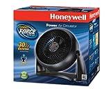 Honeywell HT-908 Turbo Force Room Air Circulator Fan Black 15 Inch