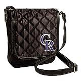 Colorado Rockies Licensed Quilted Purse Handbag