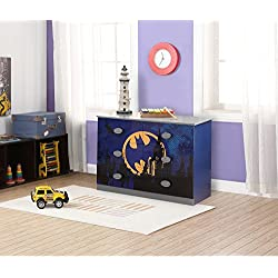 "O'Kids 0116003 Batman Dresser, 31.75"" Height, 18.75"" Wide, 44.75"" Length, Multicolor"