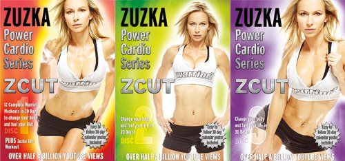 ZCUT Power Cardio Series 3 Dvd Set by Watch it Now Entertainment