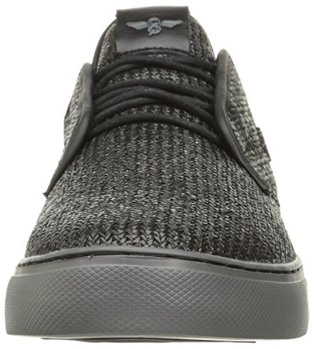 Creative Recreation Mens Lacava Q Fashion Sneaker Black Peltro Woven