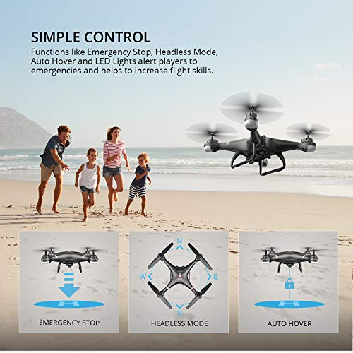 Holy Stone HS110G GPS FPV Drone with HD Camera