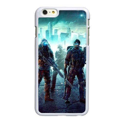 L4J49 Ghost Recon Future ubisoft soldat F6X4ID coque iPhone 6 Plus de 5,5 pouces cas de couverture de téléphone portable coque blanche KN2CAH2LY