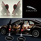 Auto Sport Car Door Logo Shadow Projector LED welcome Light (jaguar)