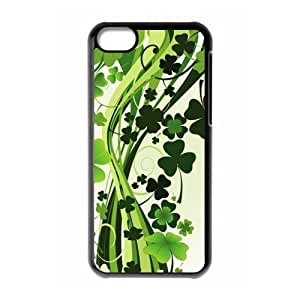 TYHH - Run horse store - Just for You, Green Clovers picture for black plastic iphone 6 plus 5.5 case ending phone case