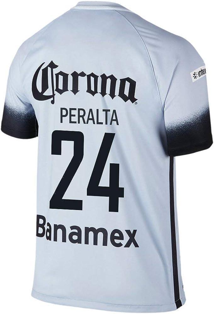 Nike Peralta # 24 Club América Stadium Decept Third Jersey 2016