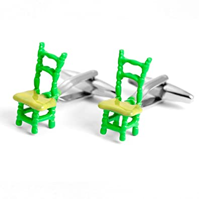 Amazon.com: Gemelos de plástico para hombre, diseño de silla ...