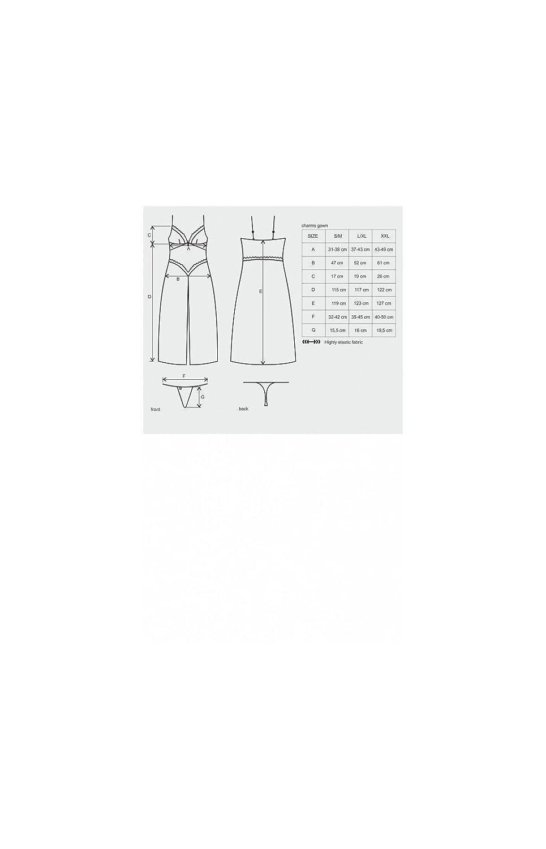 0bf1931c12c0dd Obsessive Charms Teddy Nachtwäsche: Amazon.de: Drogerie & Körperpflege