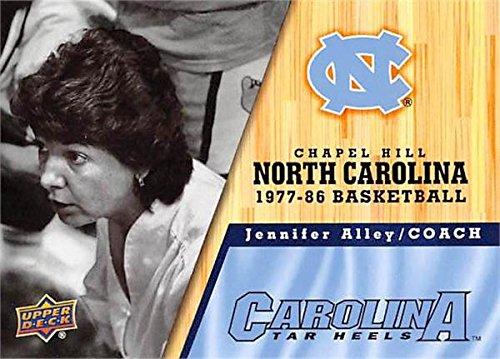 1982 Tar Heels - Jennifer Alley Basketball Card (North Carolina Tar Heels, 1977-1986) 2011 Upper Deck #39