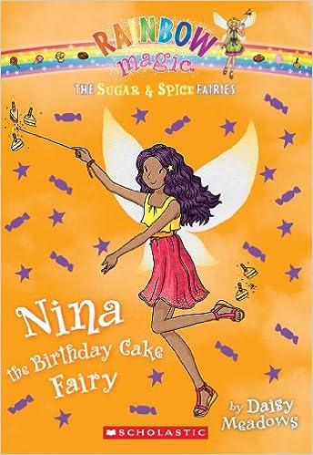 Amazon The Sugar Spice Fairies 7 Nina Birthday Cake