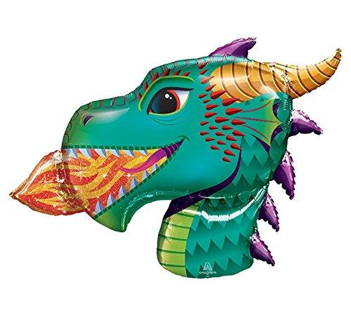 Fire-Breathing Dragon Head Jumbo 36