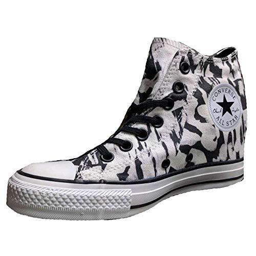 Tejido Zapatos Lux Converse 548477c Ct Mid Mujer Bianco Deportivos Xfn6qt