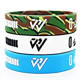 Tentop Basketball Silicone Wristband Bracelet Sign Logo?Gift Idea for Your Beloved Ones