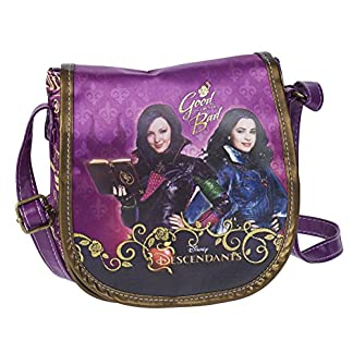 19eb281fb9 Karactermania Los Descendientes Fairest Borsa Messenger, 17 cm, Viola  (Morado)