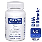 Pure Encapsulations - DHA Ultimate - Eco-Friendly Supercritical CO2 Extracted DHA Fish Oil Concentrate - 60 Softgel Capsules