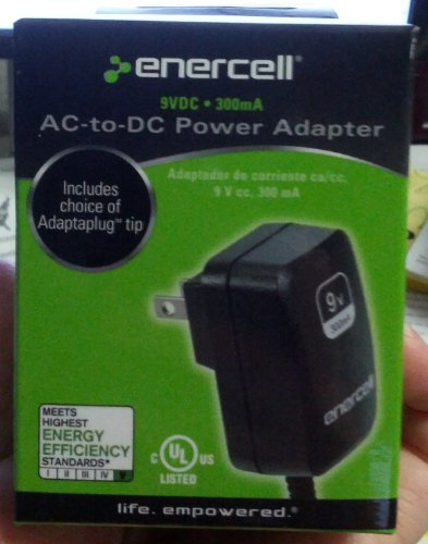 AC-to-DC Power Adapter 9VDC/300mA