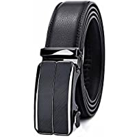Bulliant Men Belt-Leather Ratchet Belt for Men Dress 1 3/8