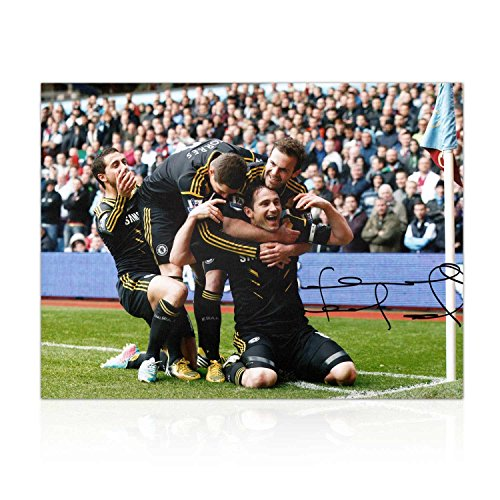 Frank Lampard Signed Chelsea Football Photo: The 203rd Goal