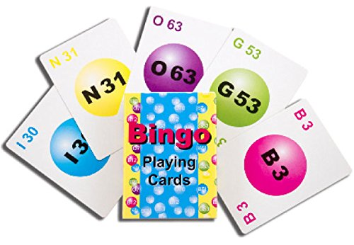 Professional Deck of Bingo Playing Cards by Mr. Chips, Inc (Playing Bingo)