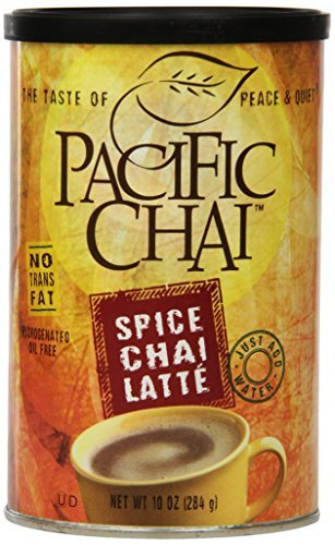 Pacific Spice Chai Latte Mix, 10-Ounce Canisters (Pack of...