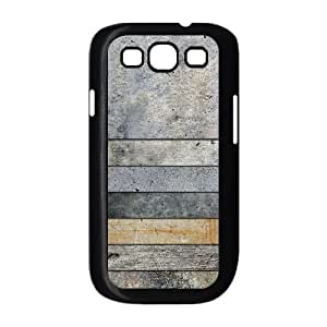 Custom Cover Case with Hard Shell Protection for Samsung Galaxy S3 I9300 case with Wood Texture lxa#236454 Kimberly Kurzendoerfer