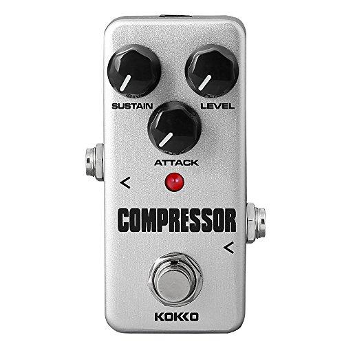 Portable Guitar Effects Processor (KOKKO FCP2 Compressor Pedal Portable Guitar Effect Pedal True Bypass)