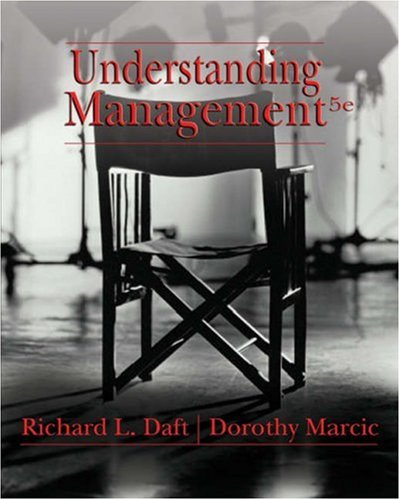Understanding Management (Available Titles CengageNOW)