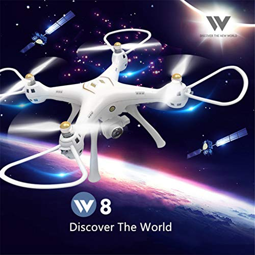(Attop W8 5G Wifi GPS FPV HD Wide Angle Camera Smart Follow Quadcopter Drone - Memory Cards ,Intelligent Return (1080P) )