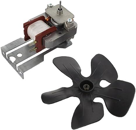 Spares2go Motor De Ventilador De Refrigeración Con terminal para ...