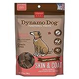 Cloud Star Dynamo Dog Skin & Coat Soft Chew Treats Salmon Formula - Grain Free - Daily Support Of Shiny Coat - 14 Oz