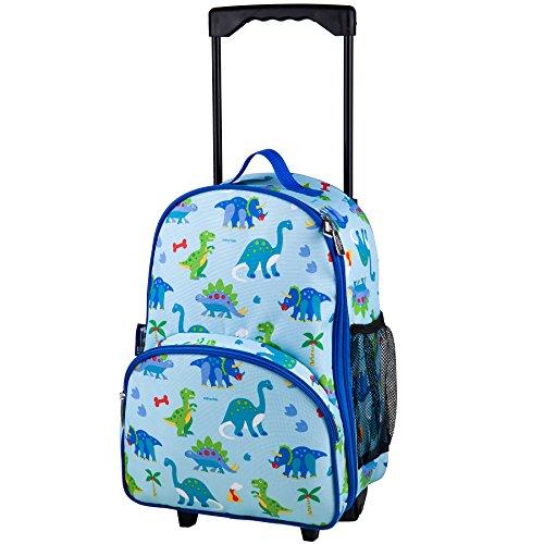 Olive Kids Dinosaur Land Rolling Luggage (Luggage Shop Rolling)