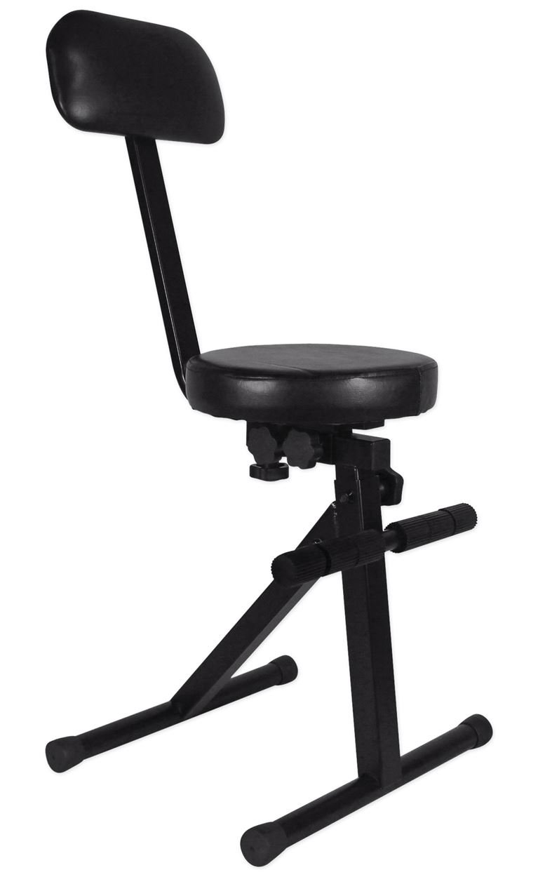 Rockville RDS40 Portable DJ/Guitar/Drum/Keyboard Padded Throne/Chair Adjustable Audiosavings