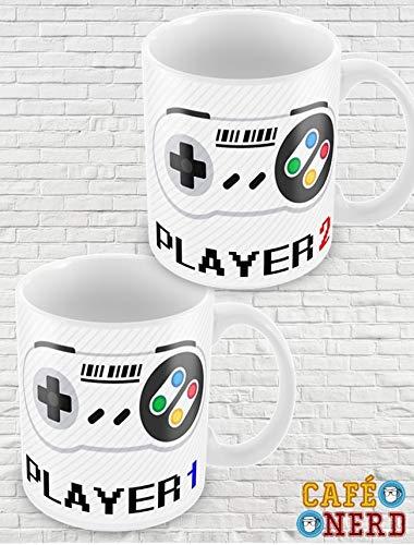 CANECAS PLAYER 1 E PLAYER 2