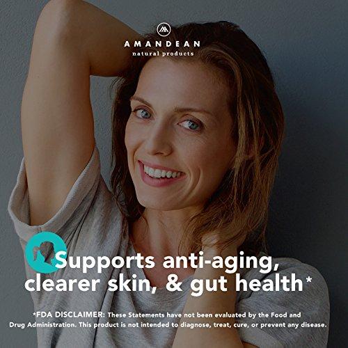51jGZsEhGtL - Premium Anti-Aging Marine Collagen Powder 17.6 Oz | Wild-Caught Hydrolyzed Fish Collagen Peptides | Type 1 & 3 Collagen Protein Supplement | Amino Acids for Skin, Hair, Nails | Paleo Friendly, Non-GMO