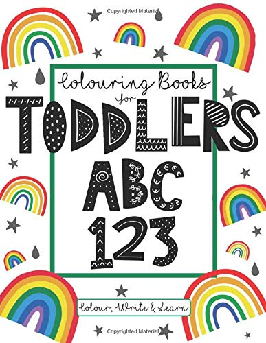 Children Activity Educational My First 123 /&  ABC Learning Book Writing Reading