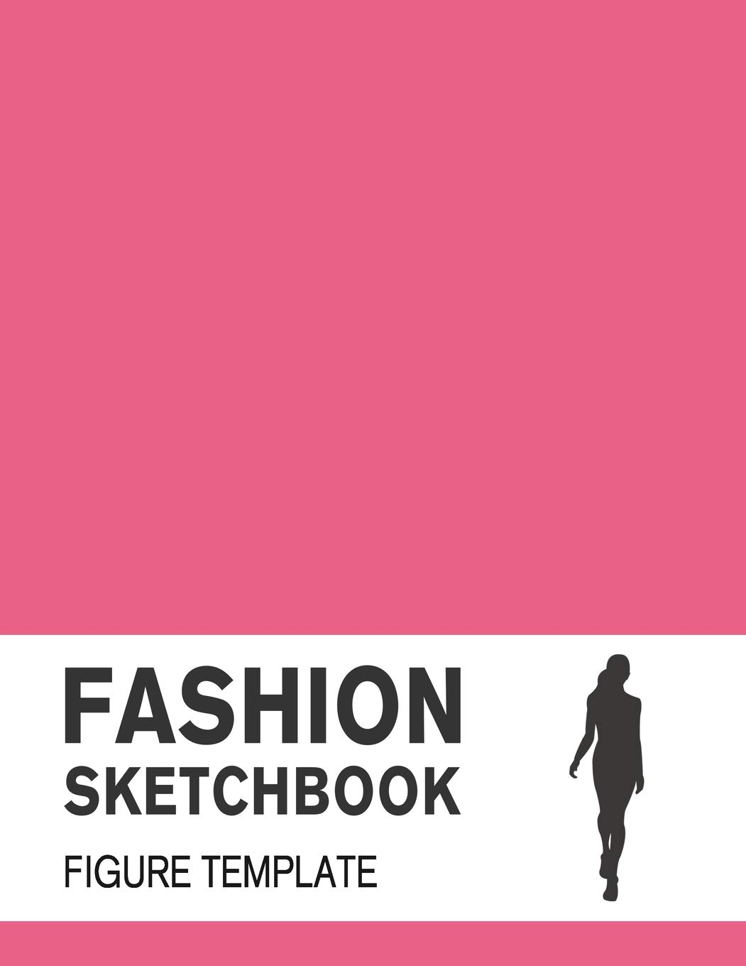 Fashion Sketchbook Figure Template Fashion Sketchpad With Lightly