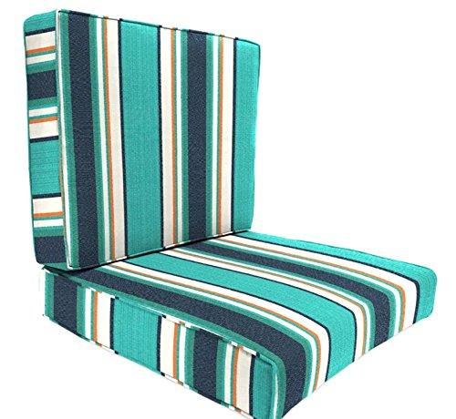 Prugist PatioParadise Token Surfside Deep Seat Chair Cushion